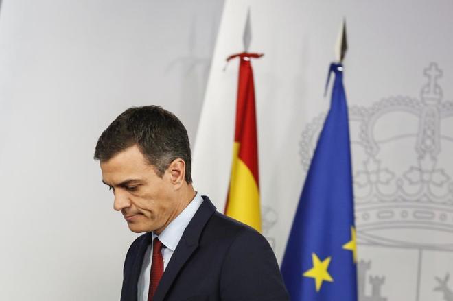 Pedro Sánchez anucia el acuerdo con la UE sobre la situación de...