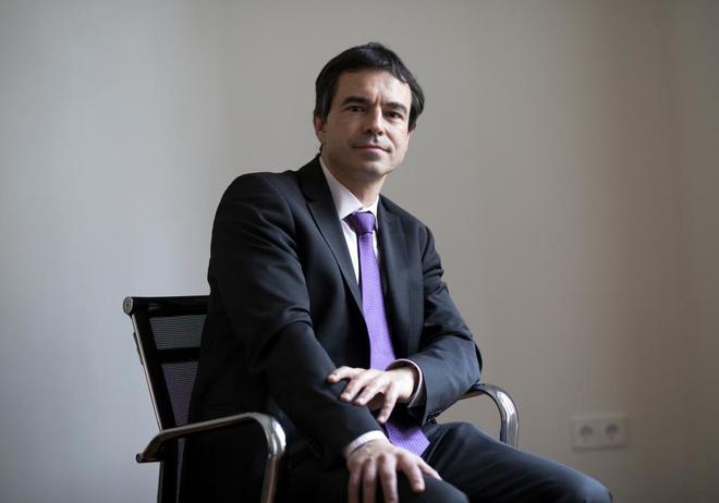 El abogado Andrés Herrzog, representante de la acusación popular...