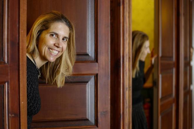 Nuria Oliver, jefa de datos de Vodafone, ingeniera de Teleco y doctora por el MIT.