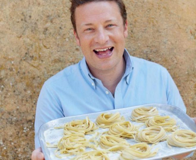 El Cocinero Inglés Jamie Oliver.