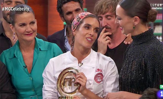 Ona Carbonell se alza con la victoria en la final de MasterChef Celebrity 3.
