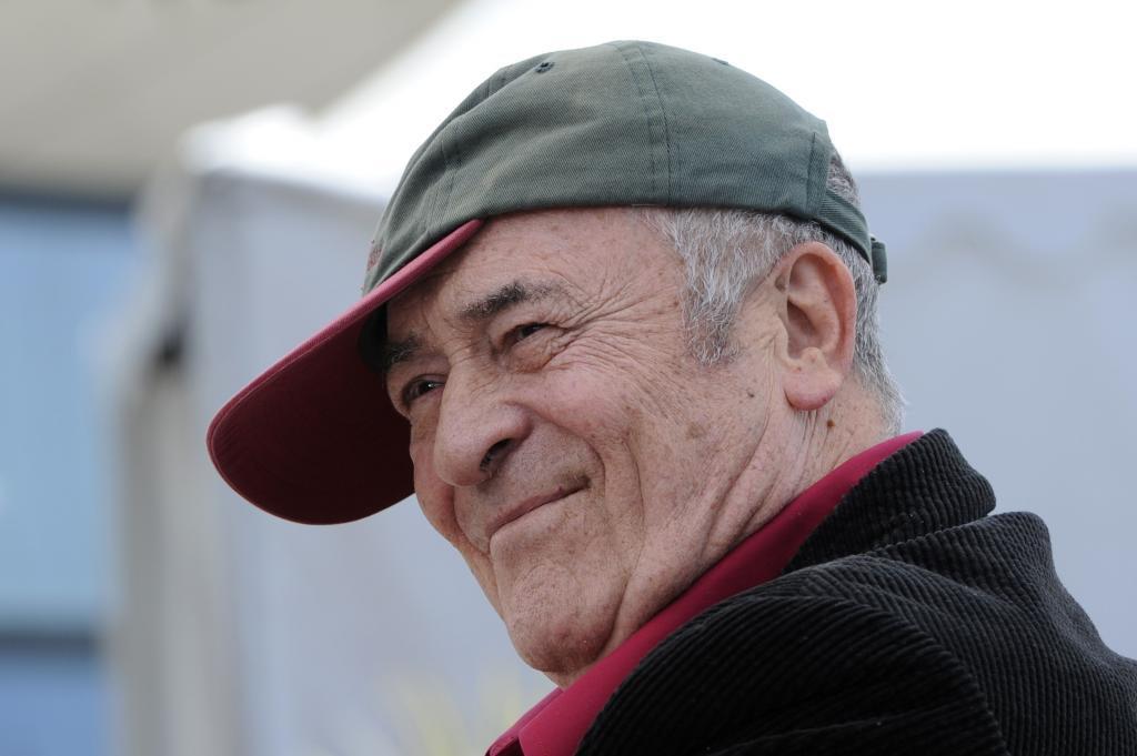 El director Bernardo Bertolucci, en 2011, cuando ganó una Palma de...