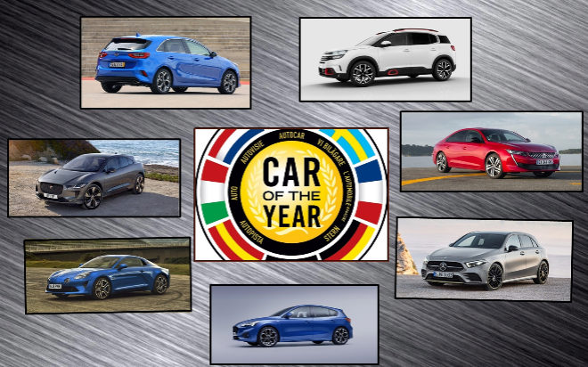 These Are The Finalists For Car Of The Year In Europe 2019