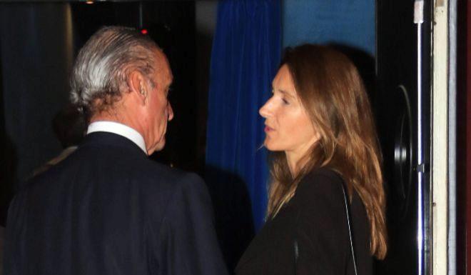 Mario Conde y Pilar Marín, en una de sus apariciones en público.