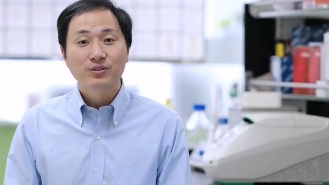 He Jiankui, científico chino de la Universidad de Shenzhen.