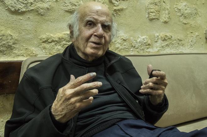 El padre Henri Boulad, jesuita y escritor.