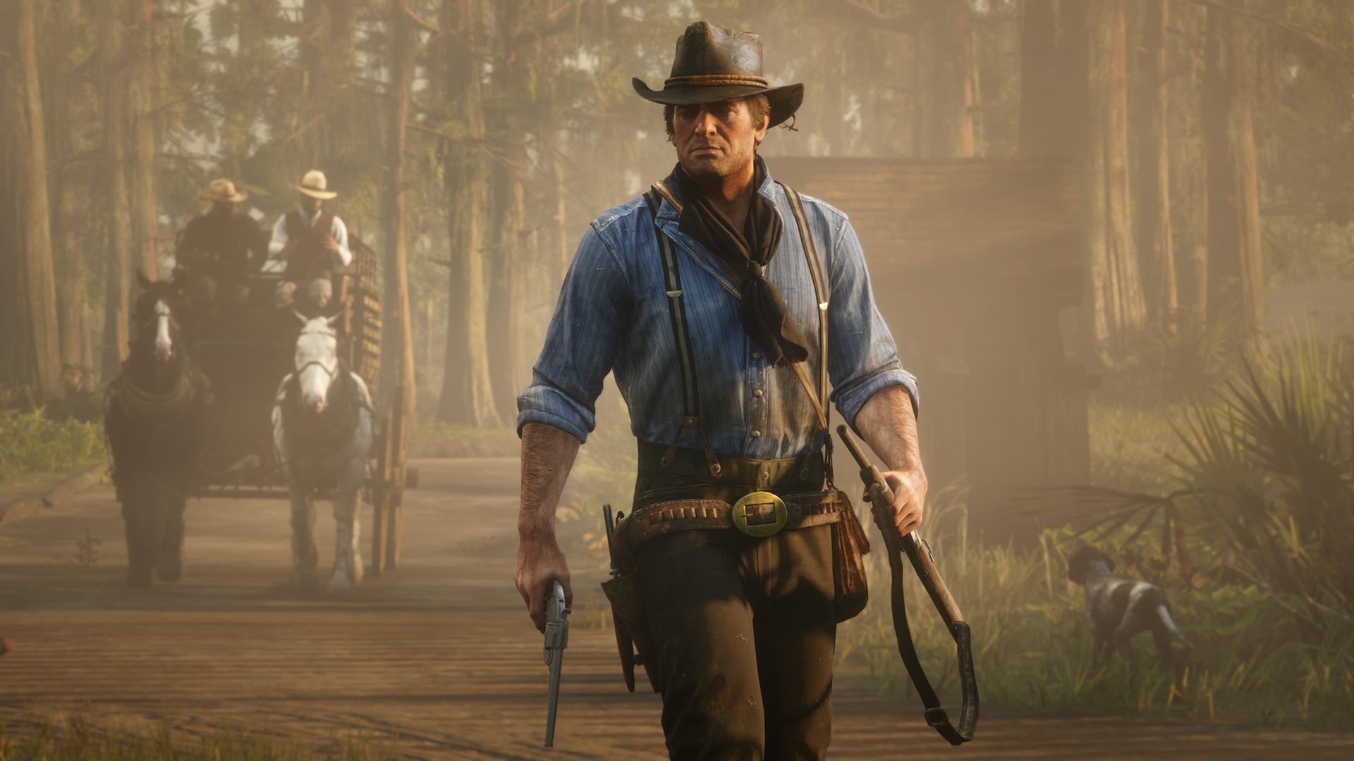 Una imagen de Red Dead Redemption 2
