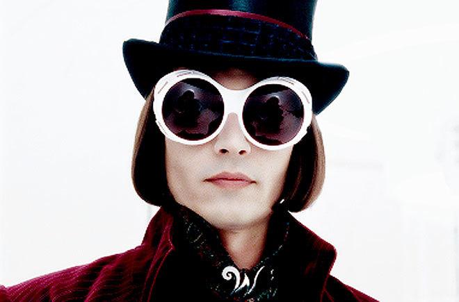 Johnny Depp, en la película 'Charlie y la fábrica de chocolate'.