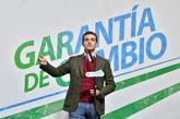 Pablo Casado, el martes, durante un mitin en Roquetas del Mar...