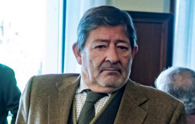 El ex secretario de Trabajo, Javier, Guerrero, durante el juicio de los ERE