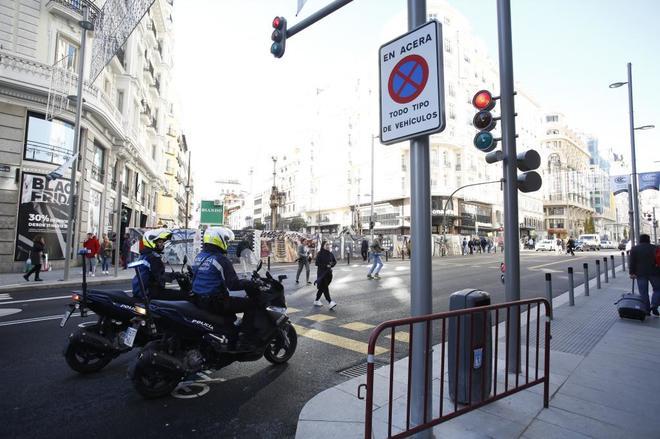 La Policía Municipal no tiene un plan especial para Madrid Central a un día de su inicio