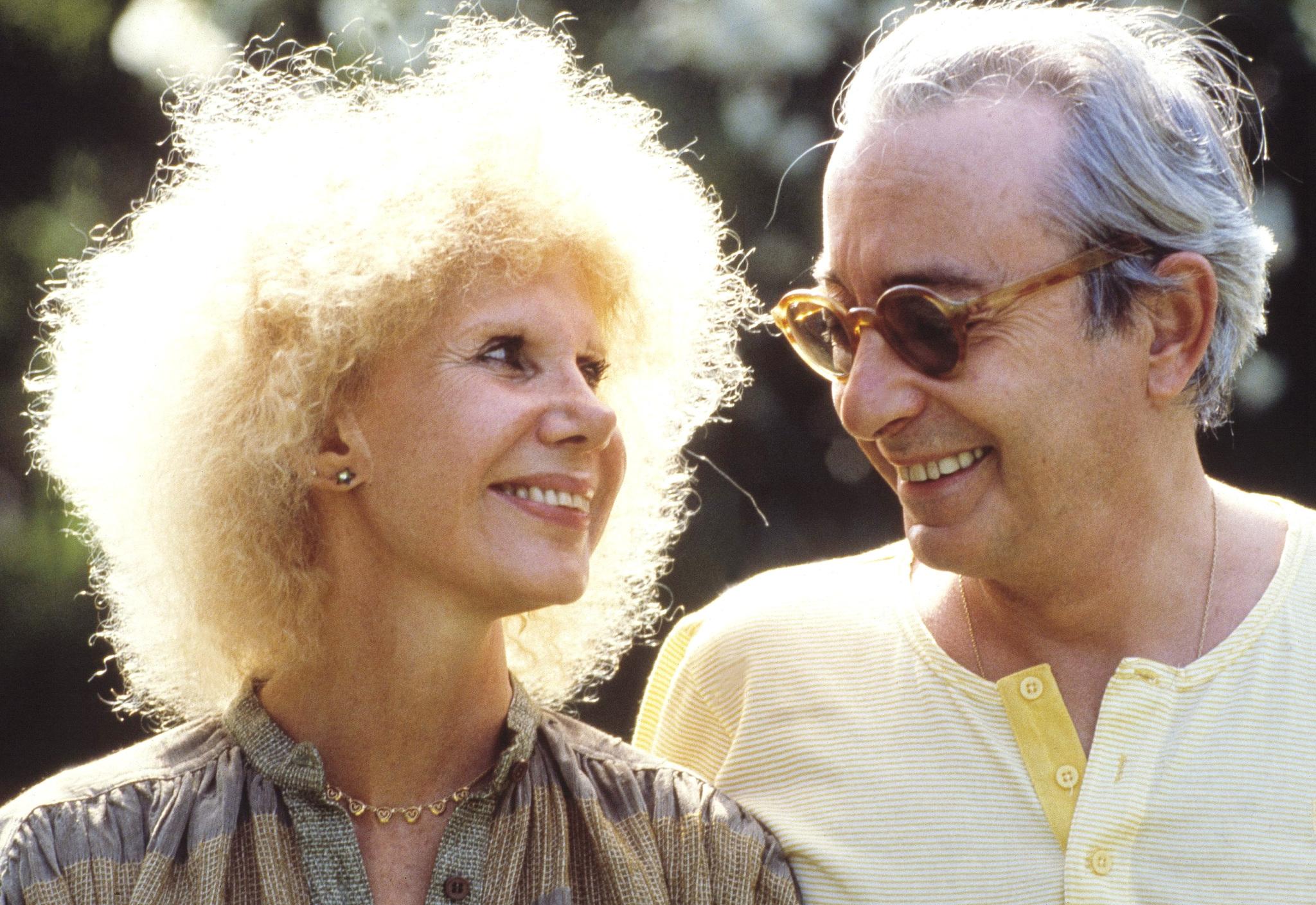 La duquesa de Alba y Jesús Aguirre, en una imagen de 1996 tomada en Marbella.