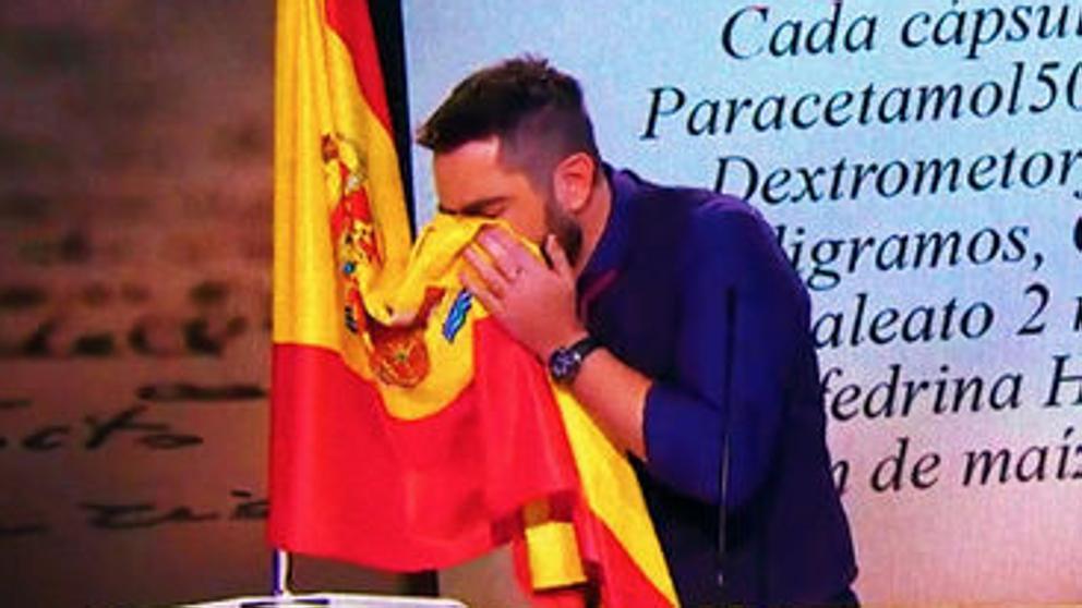 La crítica de Josema Yuste a Dani Mateo por el sketch de la bandera que se le volvió en contra