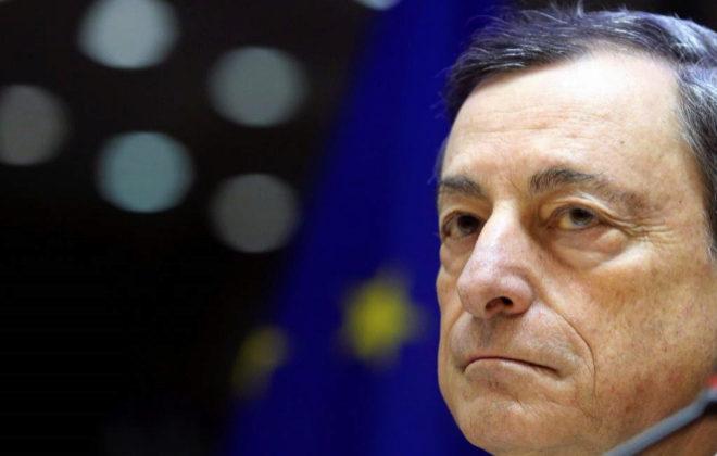 El presidente del BCE, Mario Draghi, esta semana en Bruselas.