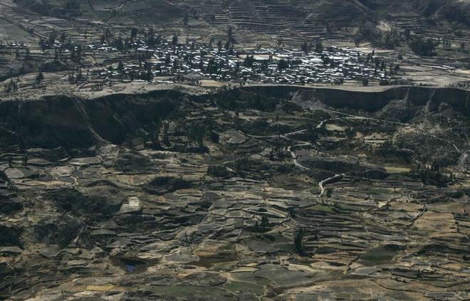 Cañón del Colca, en el departamento de Arequipa en los Andes peruanos.