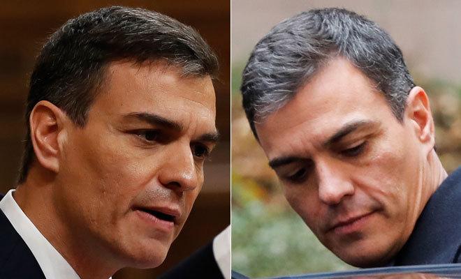 El Poder Blanquea Sin Freno La Cabeza Del Presidente Pedro