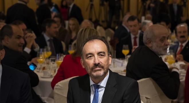 Manuel Marchena, en un acto celebrado recientemente en Madrid.