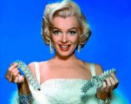 Marilyn Monroe en 'Los caballeros las prefieren rubias'.