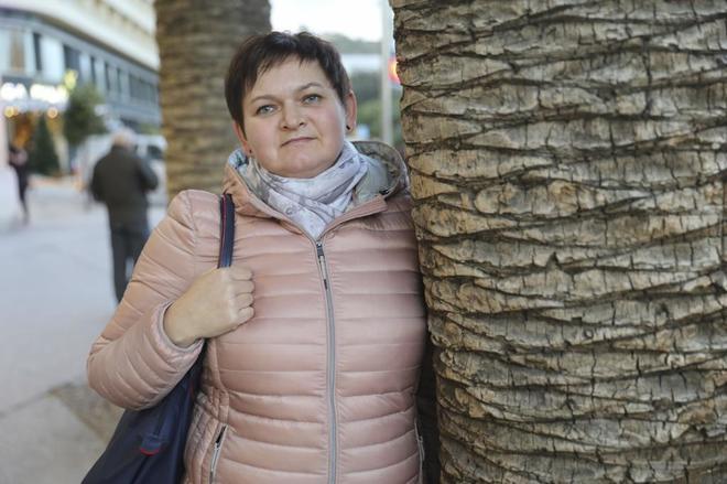 La ucraniana Larysa Chersak, que lleva desde 2002 en Málaga.