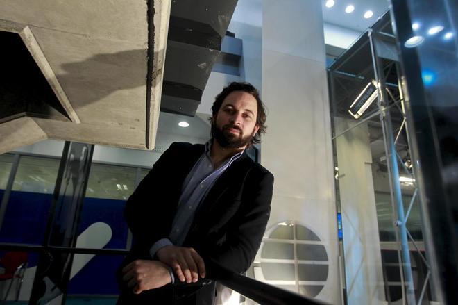 Abascal, en la sede de EL MUNDO.