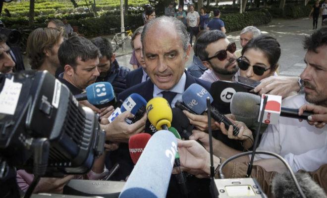 El ex presidente de la Generalitat Valenciana, Francisco Camps.