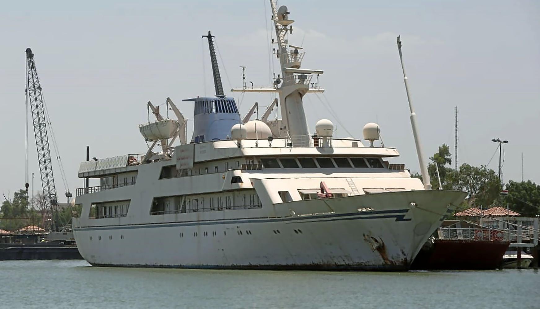 El palacio marino que sobrevivió a Sadam Husein