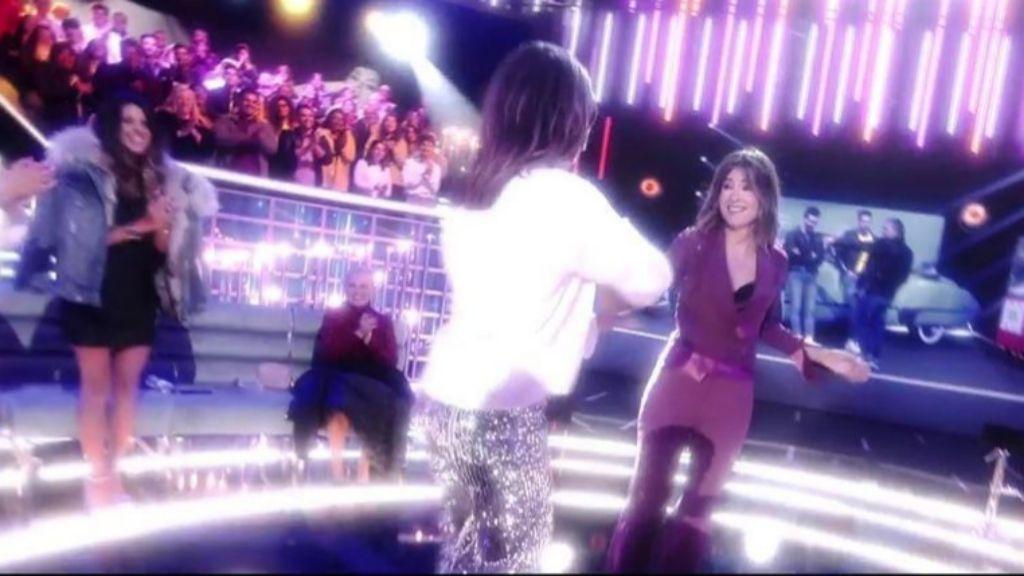 Nagore Robles y Sandra Barneda bailan al ritmo de Grease