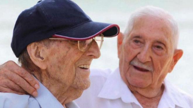 Fallece a los 102 años Germán Visús, ex combatiente que protagonizó el vídeo de los 40 años de la Constitución