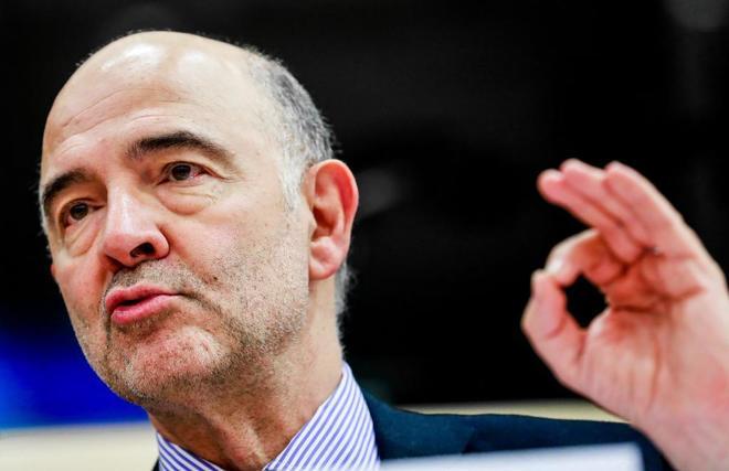 El comisario europeo Pierre Moscovici