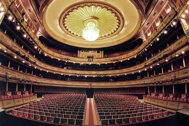 El Teatro de la Zarzuela, escenario de 'María del Pilar'.