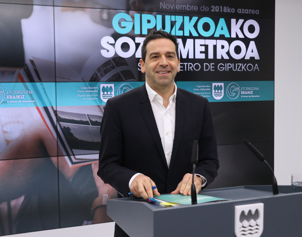 El portavoz de la Diputación de Gipuzkoa, Imanol Lasa.