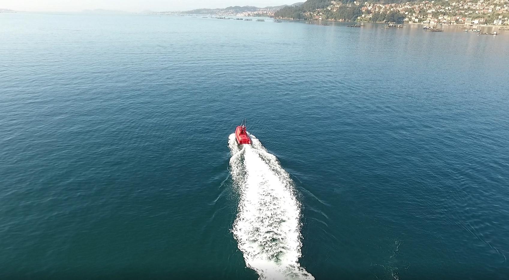 La barca de Indra que navega 'sola'