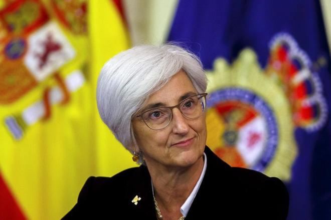 María José Segarra, fiscal general del Estado, en un acto en Valencia.