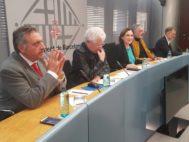 Presentación de la iniciativa en el Ayuntamiento de Barcelona