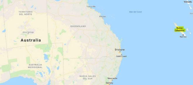 Levantan la alerta por tsunami en Nueva Caledonia tras seísmo de 7,5 grados