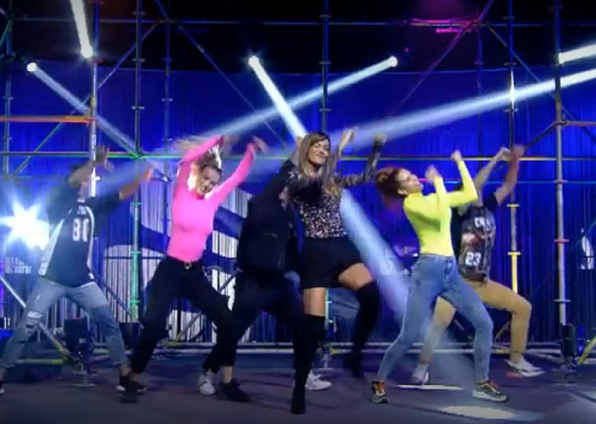 Lara Álvarez sorprende con su baile en Gran Hermano VIP 6