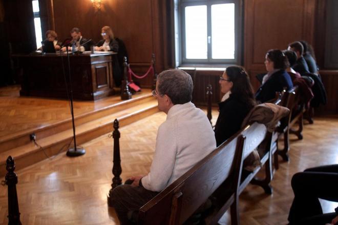Vista genral de la sala donde se celebra el juicio contra Miguel...