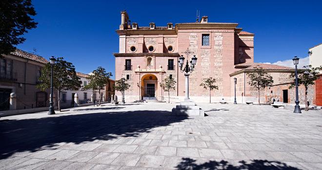 Plaza Mayor de Illescas, en Toledo, de donde fueron sustraídos los menores.