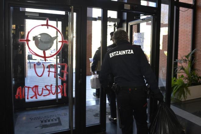 Facultad de Vitoria donde se ha producido la agresión al joven que...