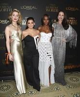 Amber Heard, Eva Longoria, Aja Naomi King y Andie MacDowell, fueron...
