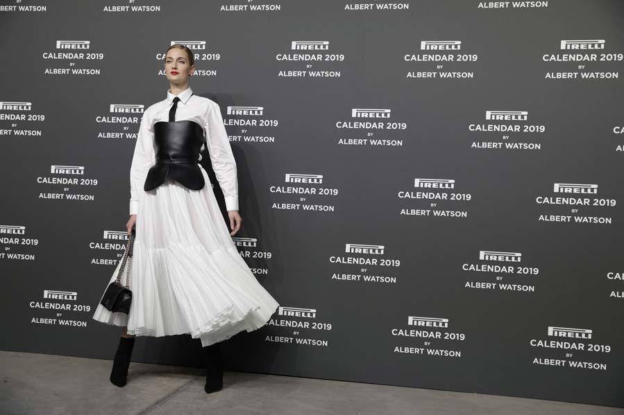 Eligió un total look de Dior de la colección otoño-invierno 2018 en...