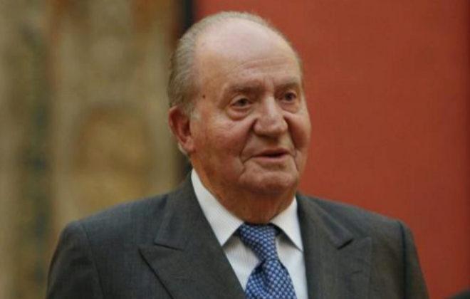 El Rey Emérito, Juan Carlos I, durante la Audiencia al Consejo Asesor...