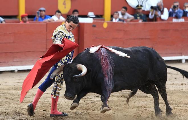 Joaquin Galdós cortó dos orejas en la plaza de toros de Acho