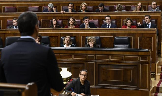 Sesión de control en el Congreso de los Diputados.