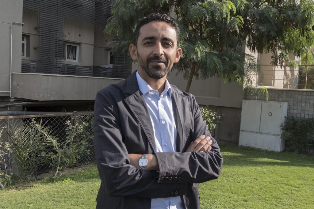 Hisham al Omeisy, activista y disidente yemení.