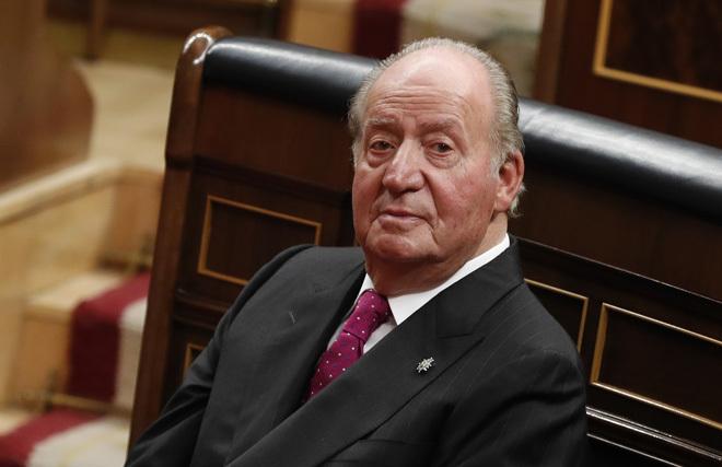 El Rey Juan Carlos, en el 40 aniversario de la Constitución.