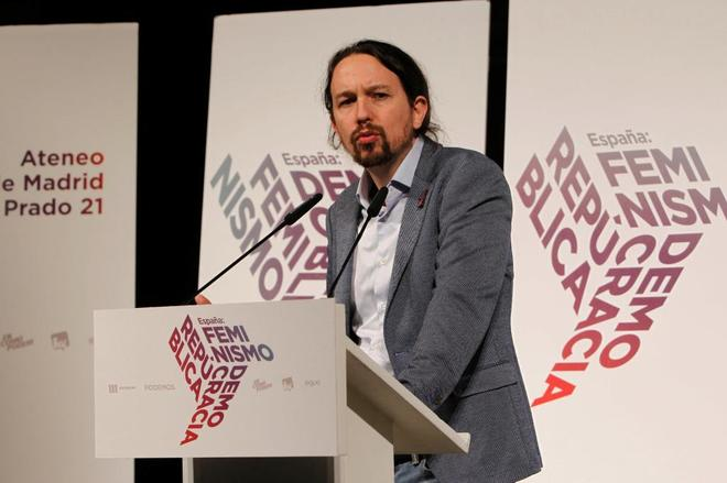 Pablo Iglesias en un acto reciente.