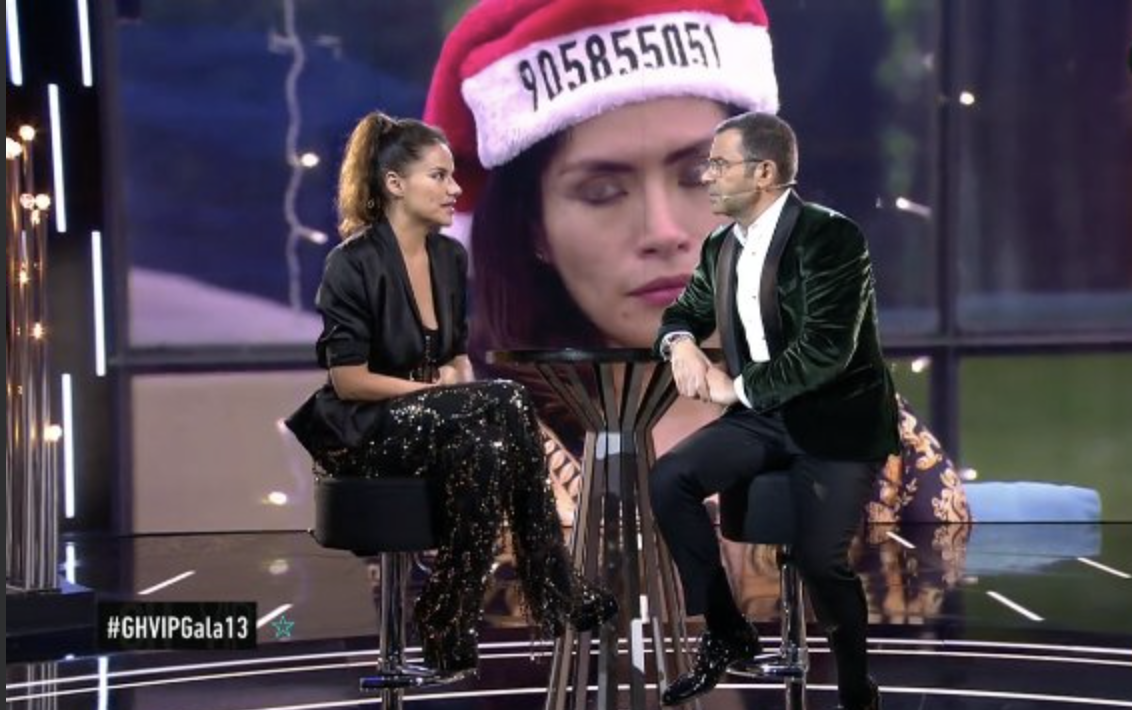 Mónica Hoyos analiza con Jorge Javier Vázquez su paso por GH VIP 6