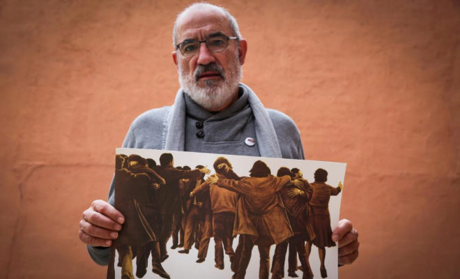 Alejandro Ruiz-Huerta, el único superviviente de la matanza de Atocha
