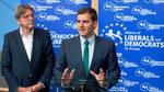 Los liberales apoyan a Rivera aunque no vete al populismo ultra en Andalucía